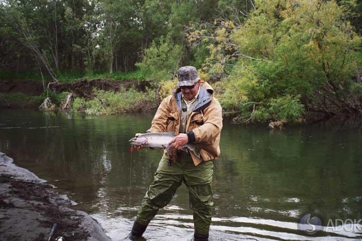 на что ловить рыбу в горных озерах