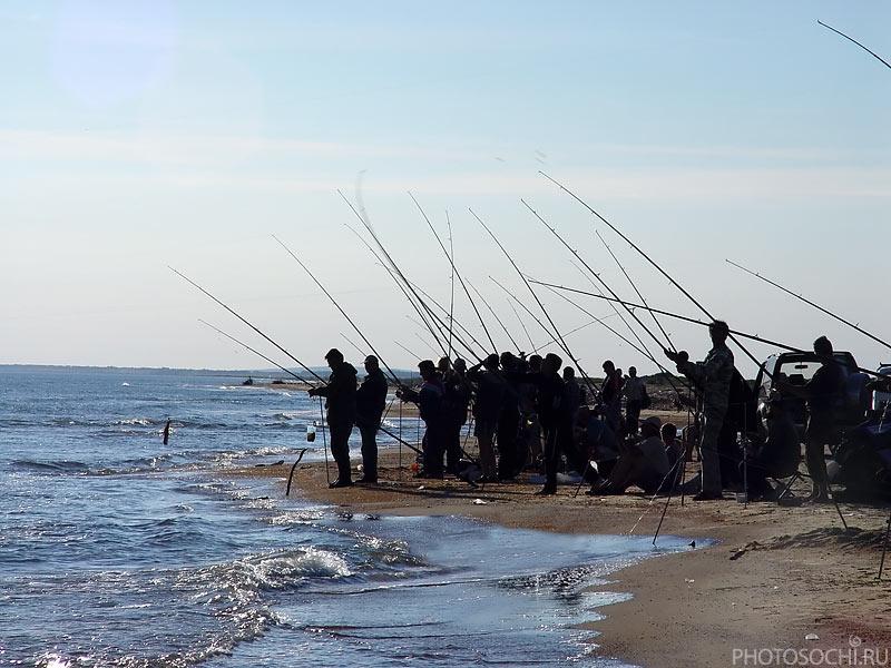 рыбная ловля в черном море
