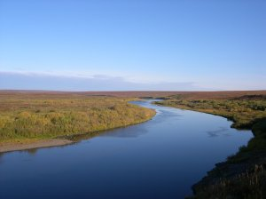 На реке Воркуте