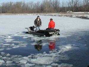 Сюрприз зимней рыбалки