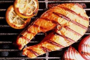 Готовим рыбу на мангале