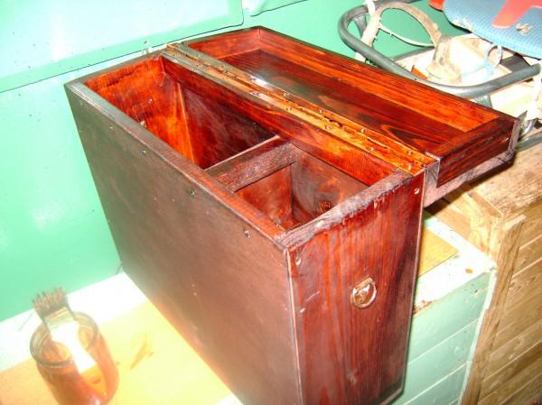 как сделать ящик для рыбалки в домашних условиях