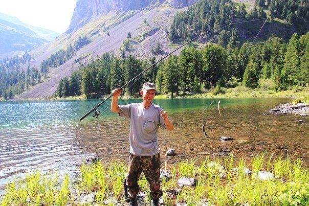 Отдых в горном алтае с рыбалкой
