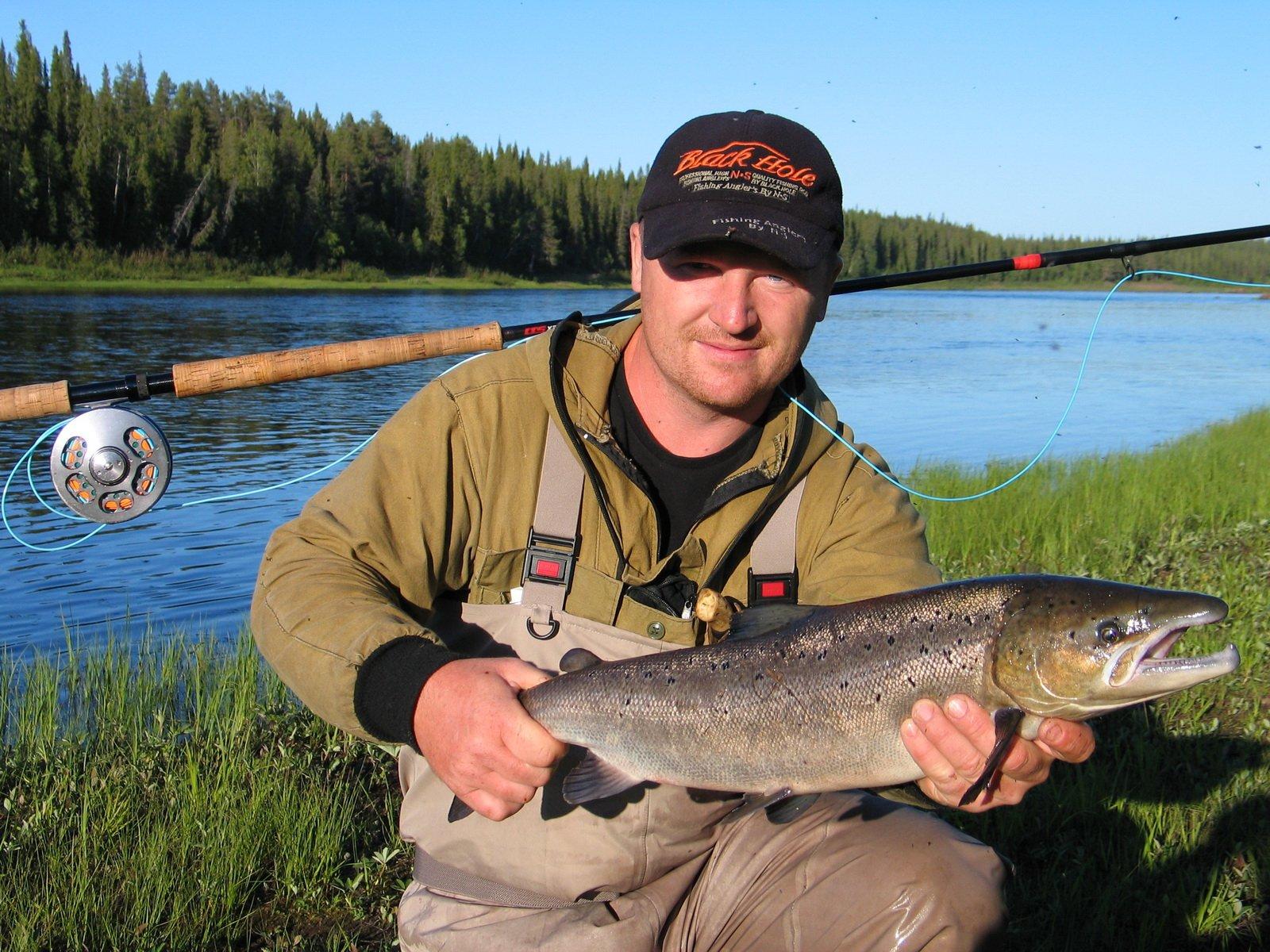 река белая мурманская область рыбалка