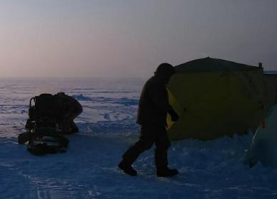 Зимний рыбацкие сапоги вездеход
