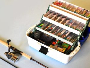 Покупка рыболовных снастей