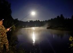 Рыбалка в тёмное время суток