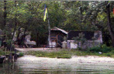 Рыбалка в русле Днепра