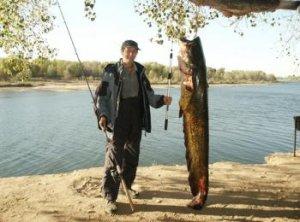 Удачная рыбалка на Ахтубе.