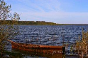Рыбалка на озере Буртниеку