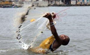 Рыбалка под лучами африканского солнца