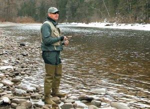 Ловля на реках Сибири