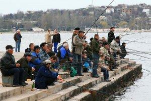 Ловля кефали на чёрном море