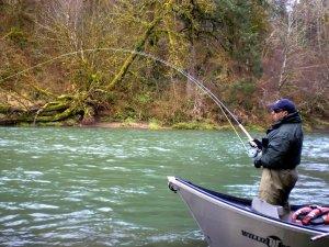 Рыбалка на реке Тьме