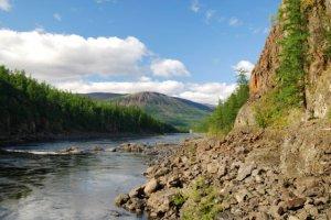 Рыбалка на реках Таймыра