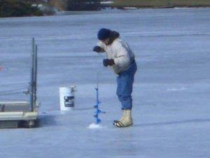 День на Днепровском льду