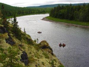 Рыбалка в низовья реки Урал
