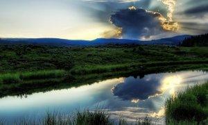 Рыбалка на речке Сутке