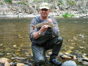 Рыбалка в верховьях Тайдона
