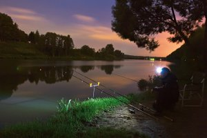 О ловле донной удочкой ночью