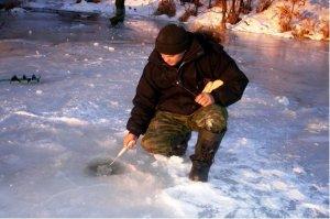 Ловля язей зимой