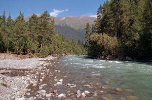 Время и места ловли на реке Псыж