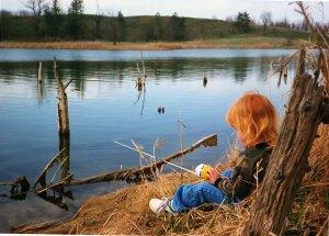 Папа, хочу на рыбалку!