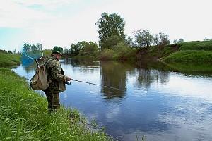 Ловля на малых реках круглый год