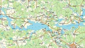 Карты водоемов для рыболовов от компании Навиком