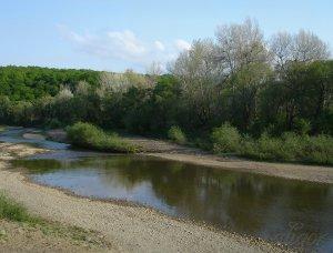 Выходной день на реке Афпис