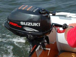 Подвесной лодочный мотор