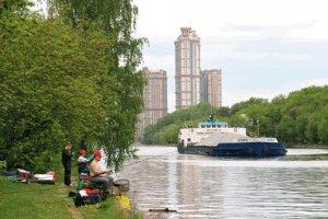 Городские условия для рыбной ловли