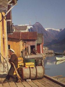 Рыбалка во фьордах Норвегии