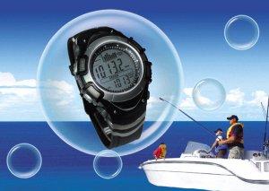 Спортивные часы для рыбака