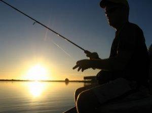 Рыбалка на безе отдыха