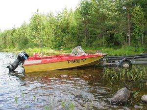 Груза и как на растяжки поставить лодку