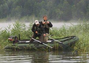 Лучшая лодка для рыбалки со спиннингом