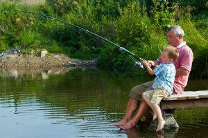 Рыбалка на берегу Невы