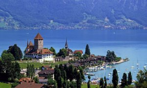 Рыбалка на Цюрихском озере