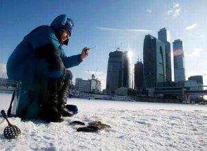 Рыбалка на Москва–реке