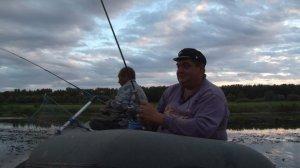 Рыбалка на берегу Волги