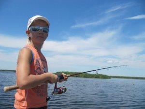 Рыбалка вместе с детьми