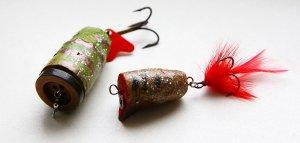 Приманки для рыбалки из древесины