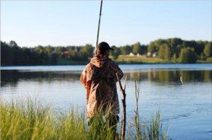 Летняя ловля рыбы