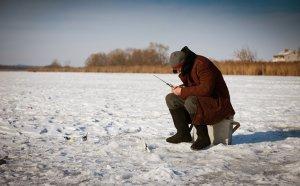 Подсечка леща на зимней рыбалке