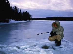 Как не покрыться инеем на рыбалке на льду