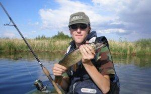 Первая рыбалка