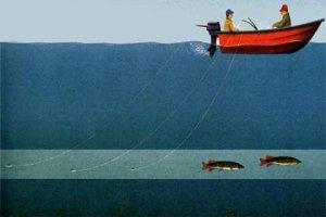 Места для троллинговой рыбалки
