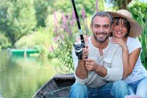 Романтическая рыбалка