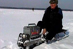 Снегоход для рыбалки